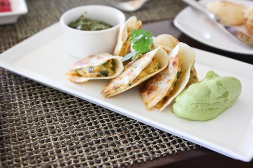 Raya, The Ritz Carlton Laguna Niguel, crab quesadilla
