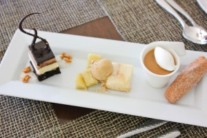 Raya, The Ritz Carlton Laguna Niguel, dessert sampler