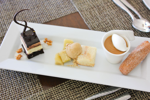 Raya, The Ritz Carlton Laguna Niguel, dessert sampler