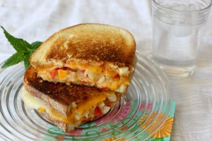 Some Like it Hot Grilled Cheese Sandwich