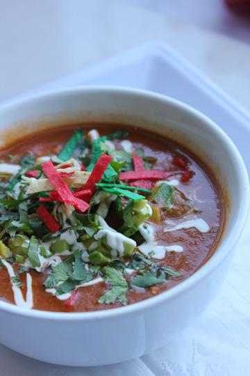 Z Cafe, Z Pizza, South Coast Plaza, Tortilla soup