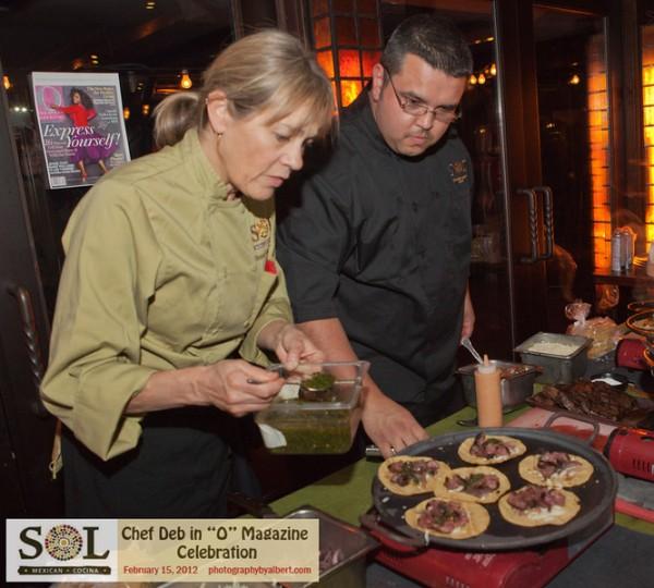 SOL Cocina, Chef Deb Schneider