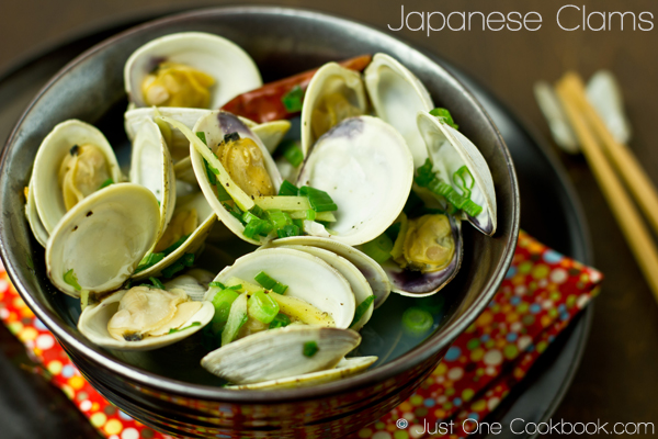 Japanese steamed clams she 39 s cookin 39 food and travel for Aoi japanese cuisine newport ky