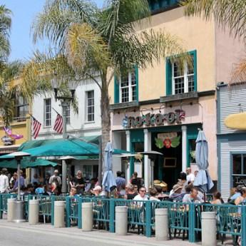 Main Street, Sugar Shack, Huntington Beach restaurants, US Open of Surfing