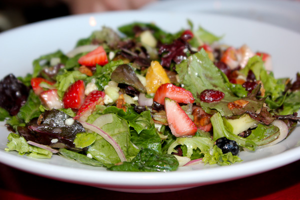 Super Foods Salad, Champagne's Bistro
