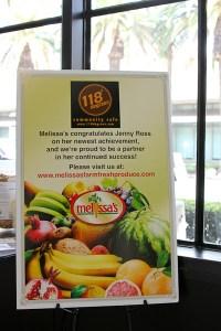 118 Degrees, Melissa's Produce