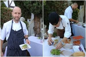 Five Crowns Executive Chef Greg Harrison, Lawry's Executive Chef Ryan Wilson