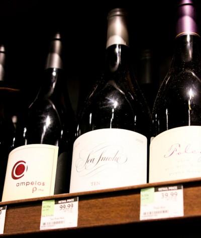 Sea Smoke Pinot Noir, Whole Foods Newport Beach wine selection