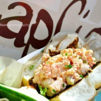 Slapfish, lobster roll, lobster and shrimp grinder, Farm to Food Truck Challenge