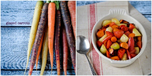glazed carrots, Kitchen Confidante, easy Thanksgiving sides