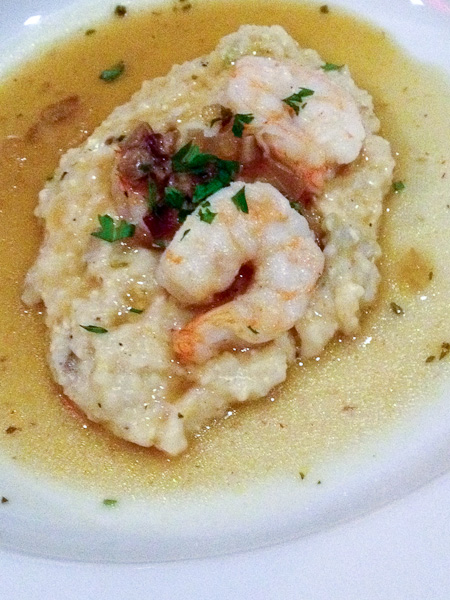 Nuevo Latino Shrimp and Grits - Chef Anthony Lamas | ShesCookin.com