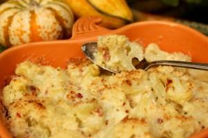 Cauliflower Gratin, Thanksgiving