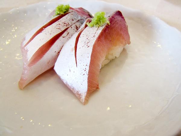 Sushi Noguchi Jack Mackerel | ShesCookin.com