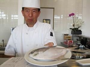 Sushi Noguchi Chef Hiro | ShesCookin.com