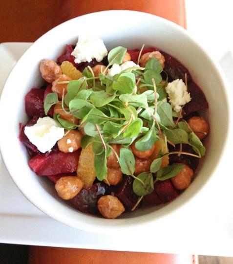 Charlie Palmer, Charlie Palmer roasted beet salad