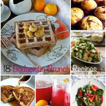 18 Bodacious Brunch Recipes, Mother's Day brunch, Easter brunch