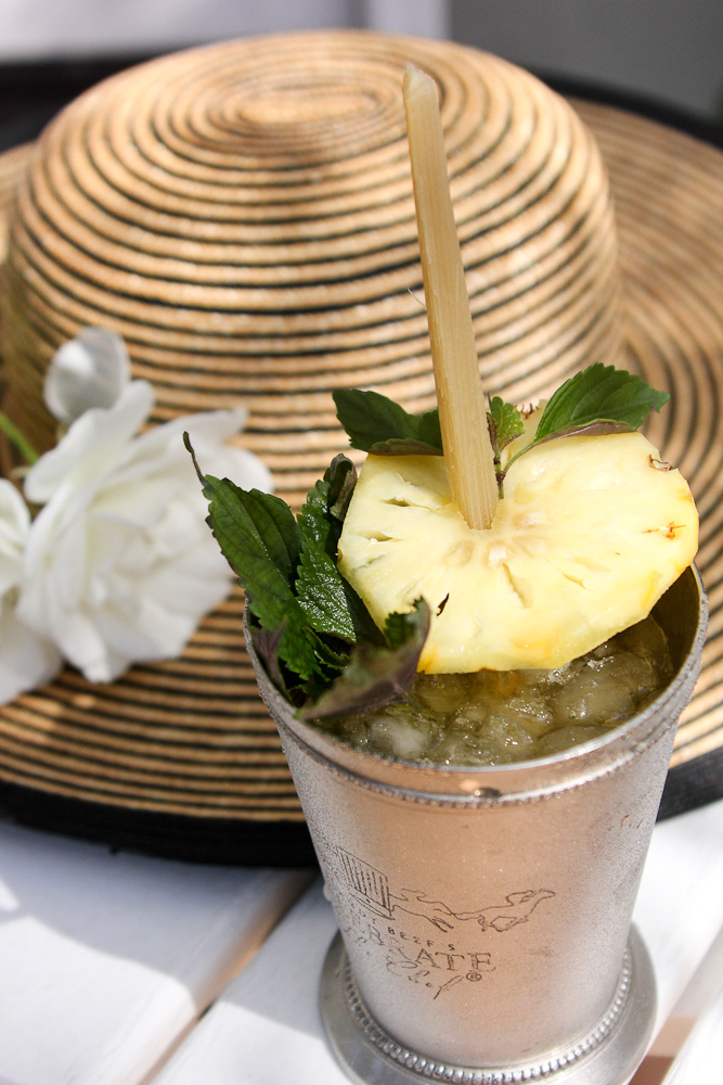 Mint julep with a tropical twist she 39 s cookin 39 food for Aoi japanese cuisine newport ky