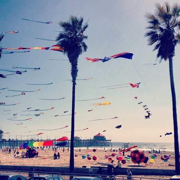 Kite Festival, Huntington Beach CA