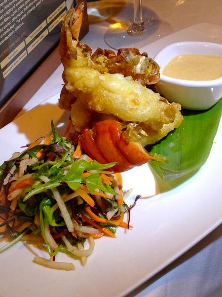 Lobster Tempura, Fleming's Small Plates-5936