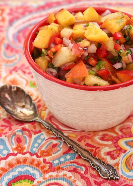 Peach and Nectarine Salsa-7400