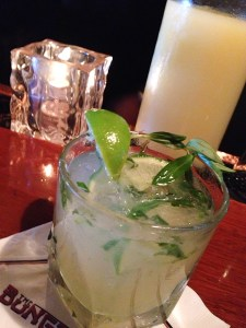 Four Muddled Cocktails - the Bayside - tequila, Cointreau, tarragon | ShesCookin.com