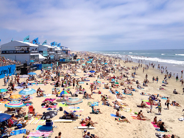 Vans U.S. Open of Surfing, Huntington Beach, CA   Priscilla Willis, ShesCookin.com