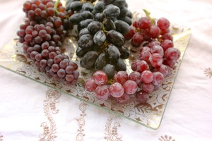 Grape varieties: Champagne, Black Moscato, Red Moscato
