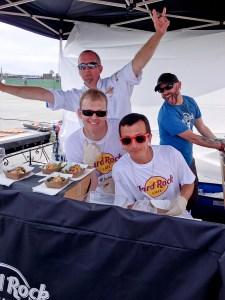 Hard Rock Cafe crew, Del Mar Grill Fest