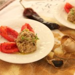 Eggplant and Hatch Chile with Roasted Tomatoes-7648
