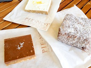 Australian sweets at Pie-Not