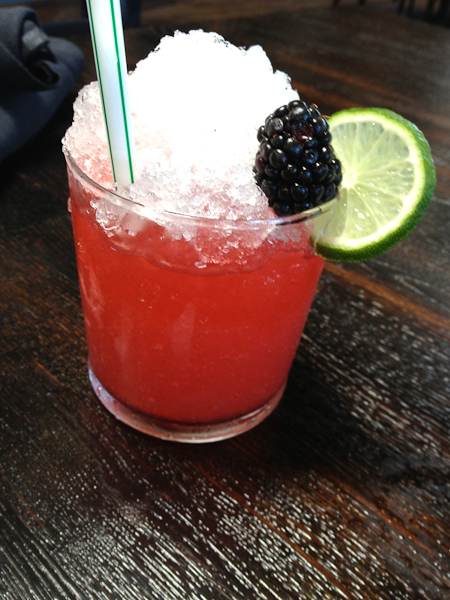 A Good Thyme - gin, blackberry thyme shrub