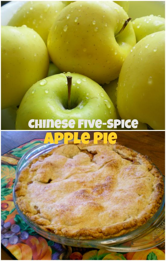Chinese Five Spice Apple Pie
