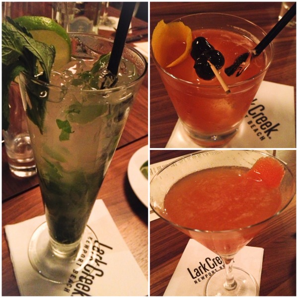 Lark Creek Cocktails