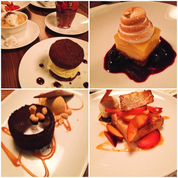 Lark Creek Newport Beach desserts