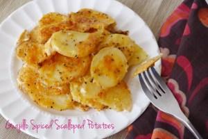 Guajillo Spiced Scalloped Potatoe
