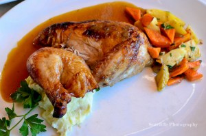 Maple Glazed Roasted Half Chicken, Seasons 52