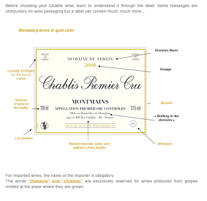 how to read a french wine label