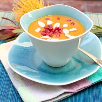 Chai Spiced Sweet Potato Bisque