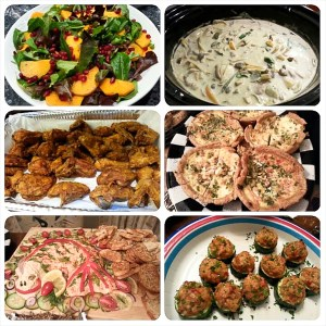 Ugly Sweater Party food