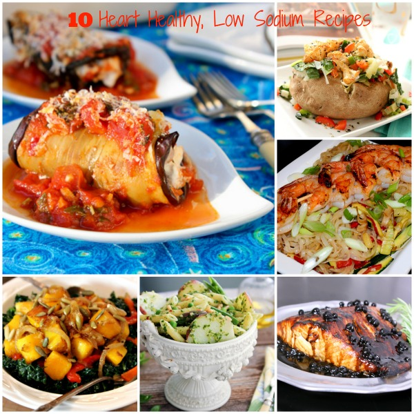 10 heart healthy low sodium recipes
