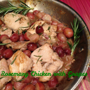 Rosemary Chicken with Grapes