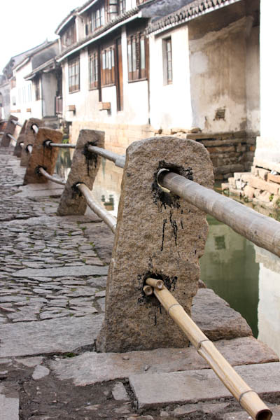 Zhouzhuang Village, Shanghai, ancient Chinese fishing village