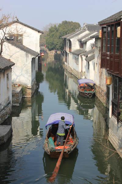 Zhouzhuang Village, ancient Chinese fishing village, Shanghai