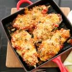 Eggplant Parmesan with Fresh Mozzarella | ShesCookin.com