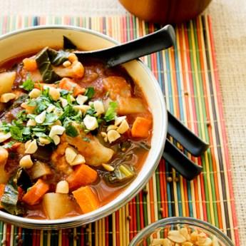 African Potato & Cauliflower Stew, | ShesCookin.com