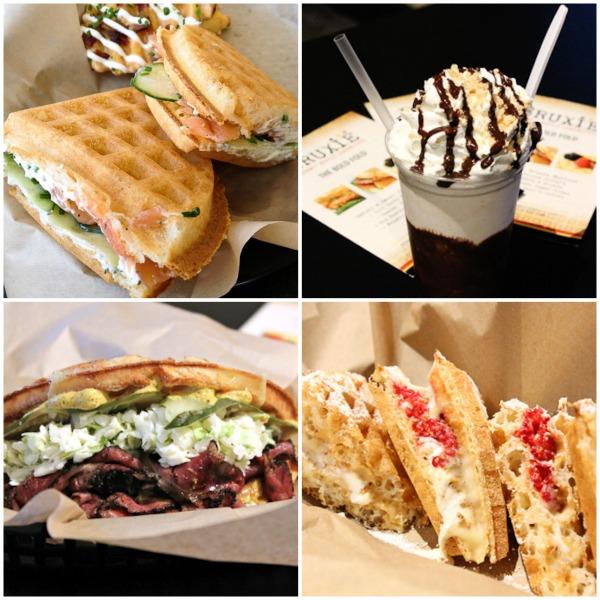 Bruxie, Bruxie Gourmet Waffles, Bruxie waffles, waffle sandwich