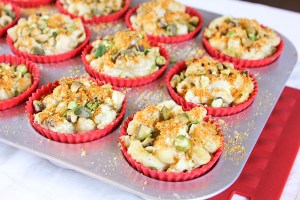 Low Carb GF Mac & Cheese Muffins