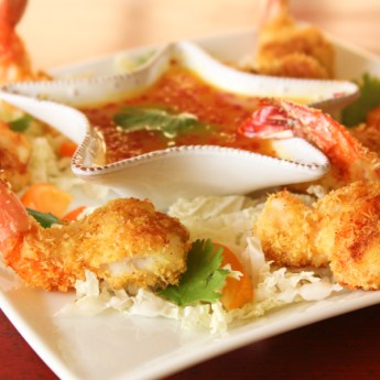 baked coconut shrimp, coconut shrimp
