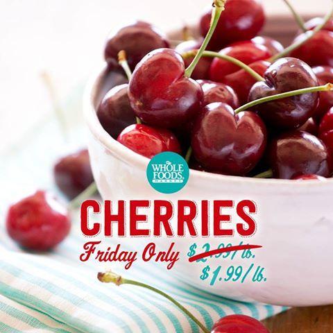 Cherries, Whole Foods Market