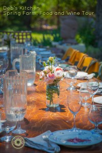 Alfresco Lunch, Spring Food & Wine Tour